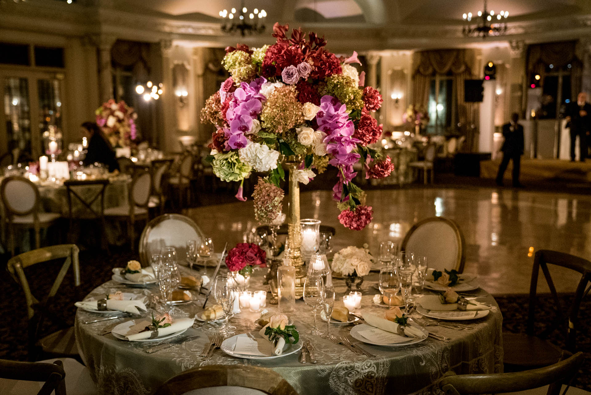 event venue tables nj