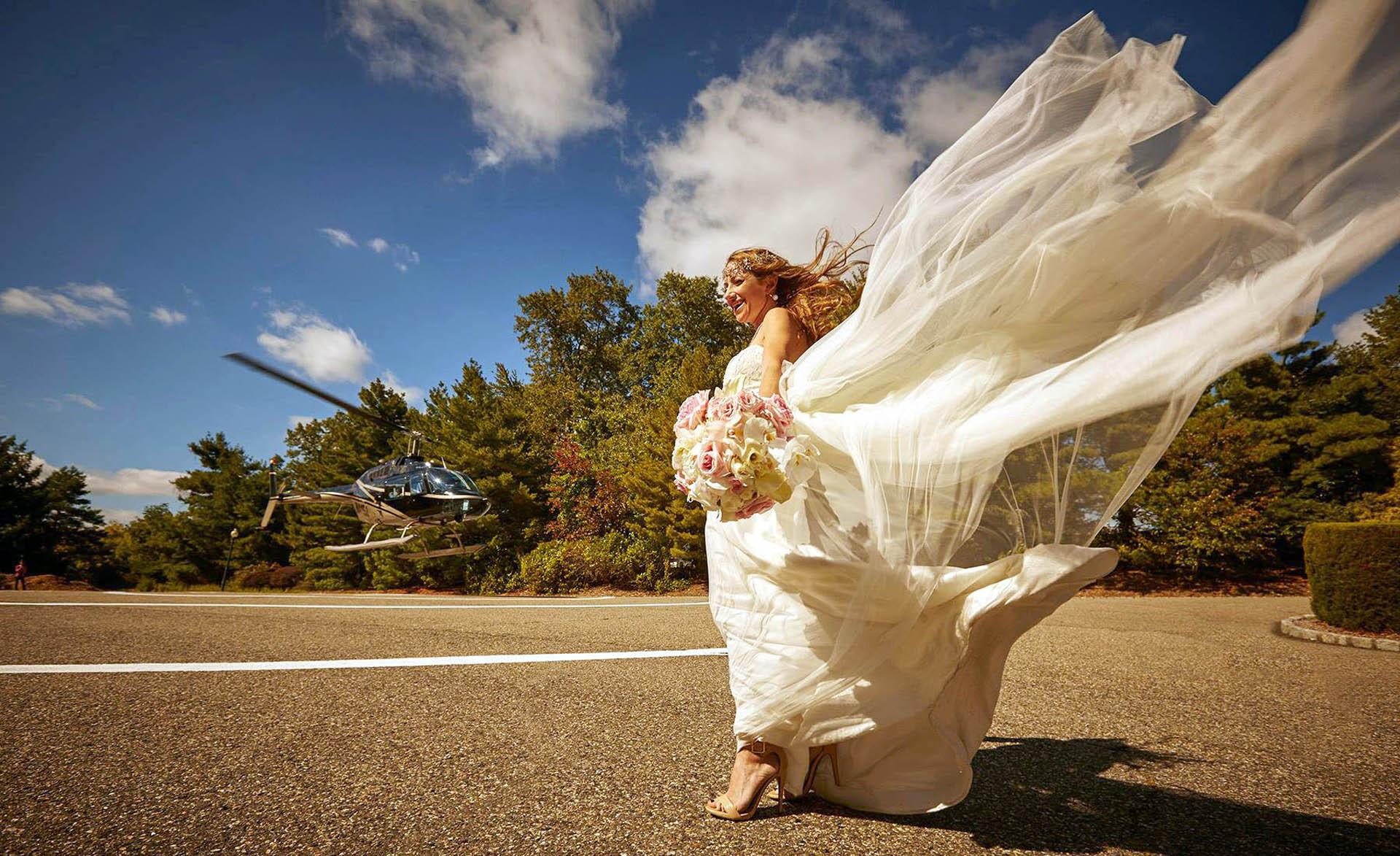 wedding bride chopper